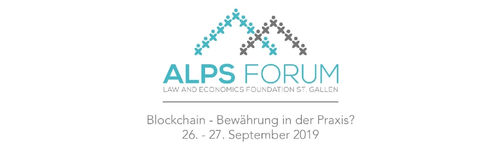 3. Alps Forum der Law and Economics Foundation St. Gallen