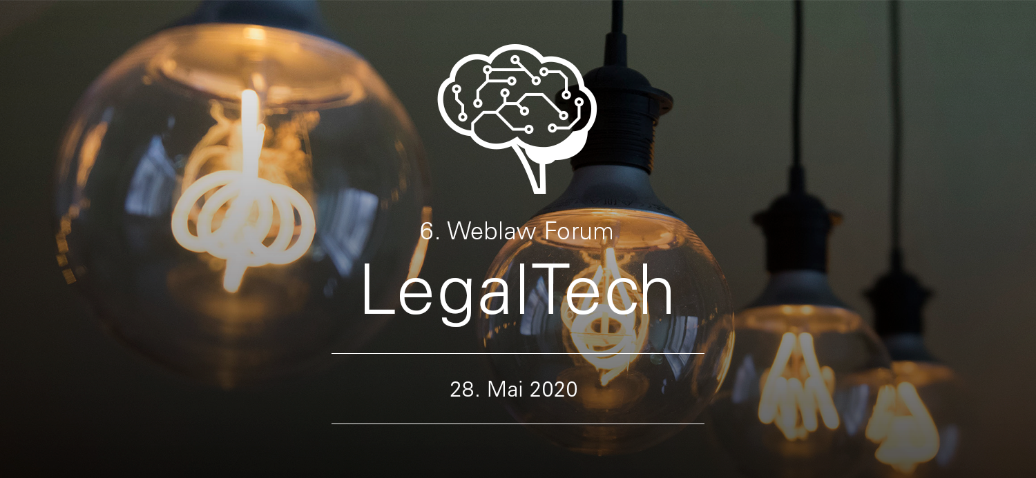 Weblaw Forum Legal Tech 2020